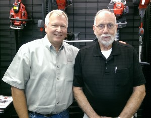 Jerry Freeman with SSCS President Robert Smith.